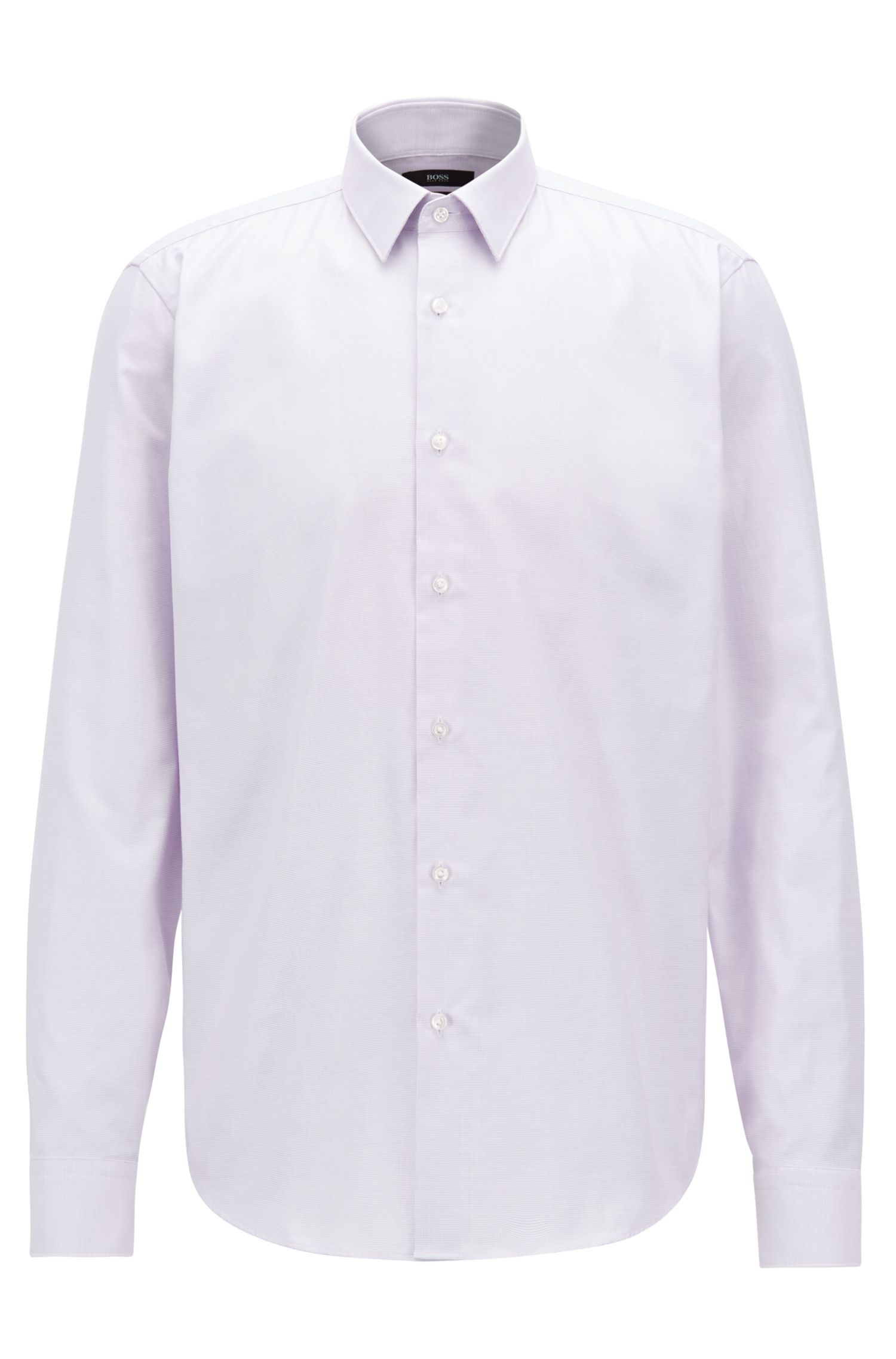 Chemise Regular Fit en coton Fresh Active, Violet clair