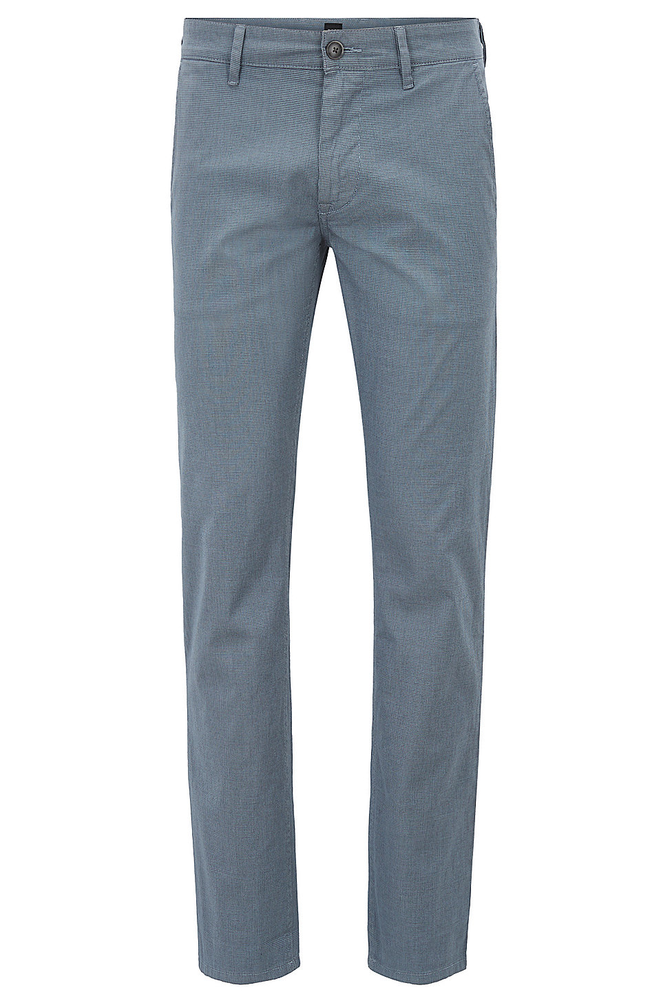 HUGO BOSS Chino Slim Fit en coton stretch à micro-motif 7k5fVC