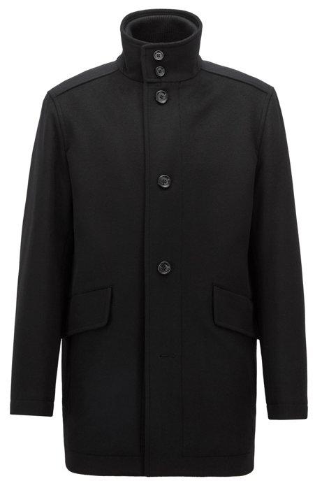 Car Fit Style En Relaxed Coat De Cachemire Vierge Et Laine Manteau wF6aqIn