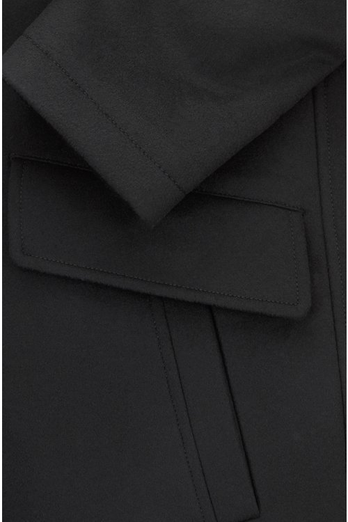 Hugo Boss - Relaxed-fit car coat in virgin wool and cashmere - 5