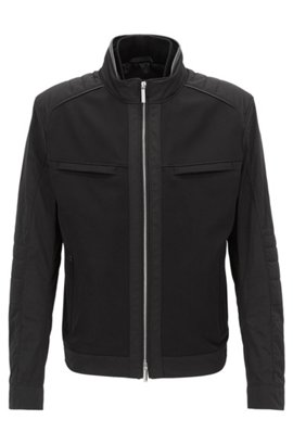 Worn by the drivers boss mercedes benz collection for Mercedes benz leather jacket