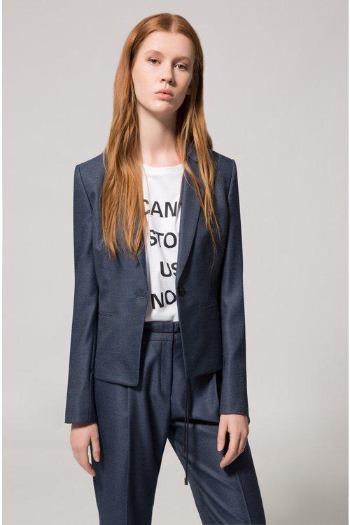 Hugo Boss - Relaxed-Fit T-Shirt aus Bio-Baumwolle mit Slogan - 2