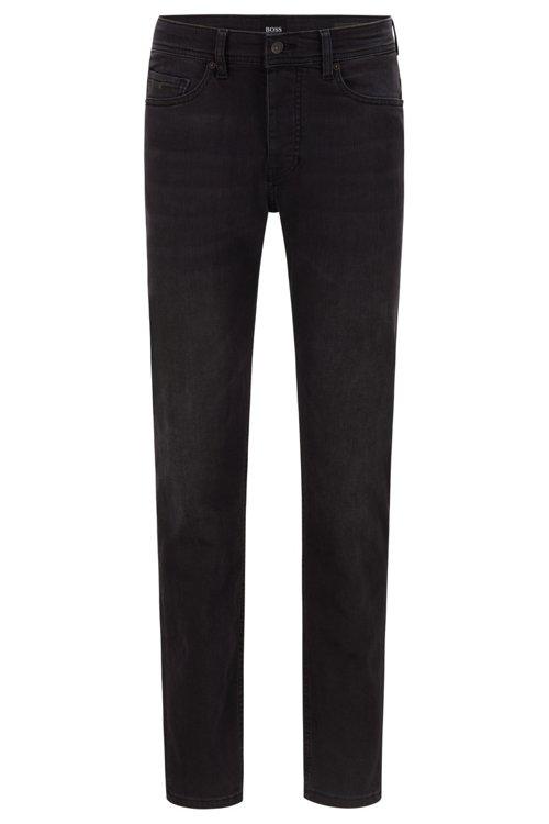 Hugo Boss - Tapered-Fit Jeans aus gewaschenem Super-Stretch-Denim - 1
