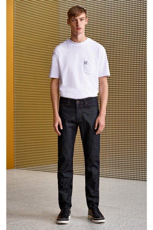 Hugo Boss - Regular-fit jeans in dark-blue washed stretch denim - 5