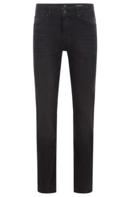 BOSS Casual Mens Delaware Bc-p Straight Jeans
