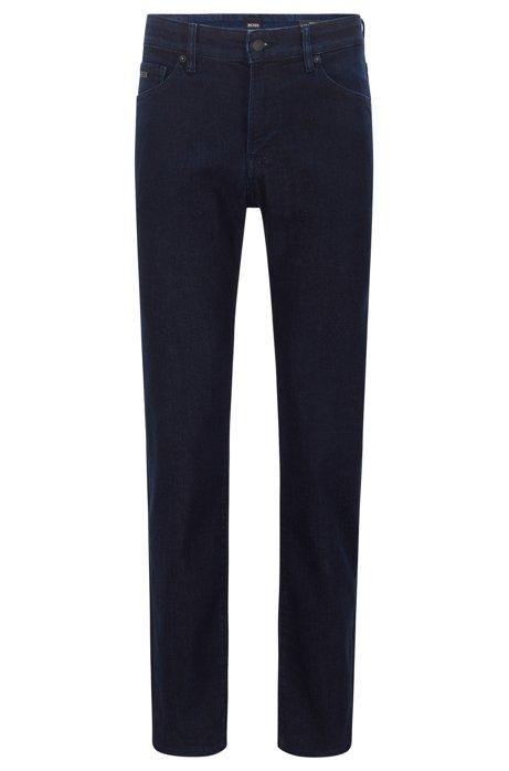 Jean Regular Fit en denim stretch red-cast confortable, Bleu foncé