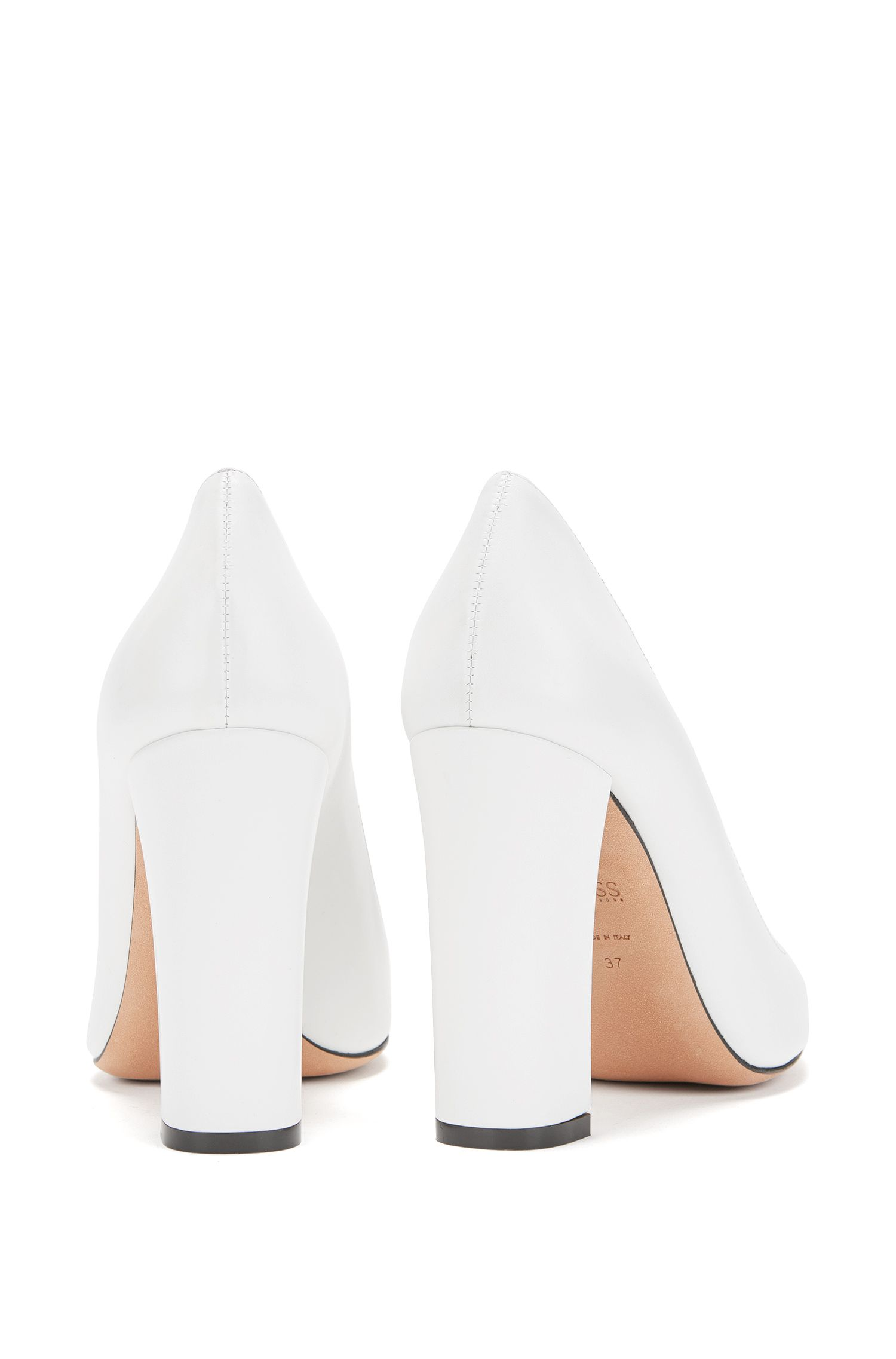 Gallery Collection court shoes in Italian leather