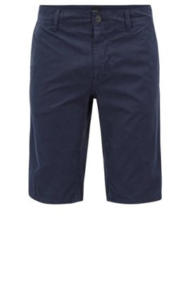 HUGO BOSS Short Slim Fit en coton stretch à la structure mesh BfA0I1gE