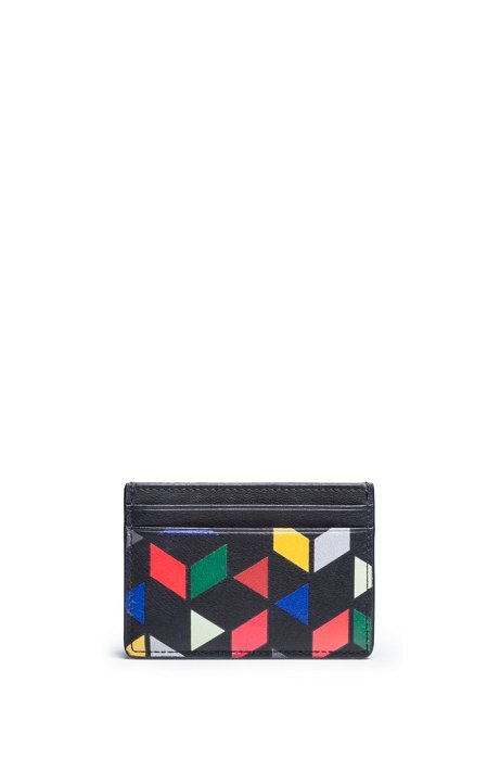 An Eames Celebration printed card holder, Patterned