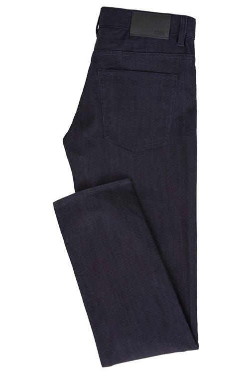 Hugo Boss - Slim-fit jeans in rinse-washed stretch denim - 3