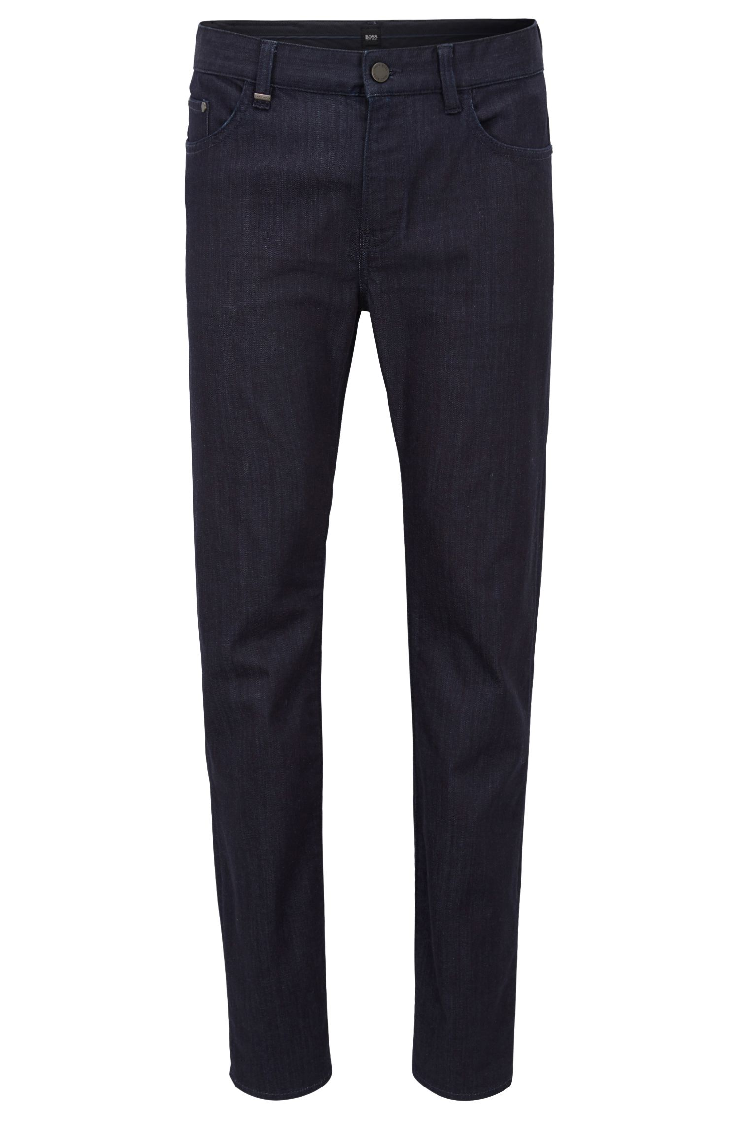 Hugo Boss - Slim-fit jeans in rinse-washed stretch denim - 1