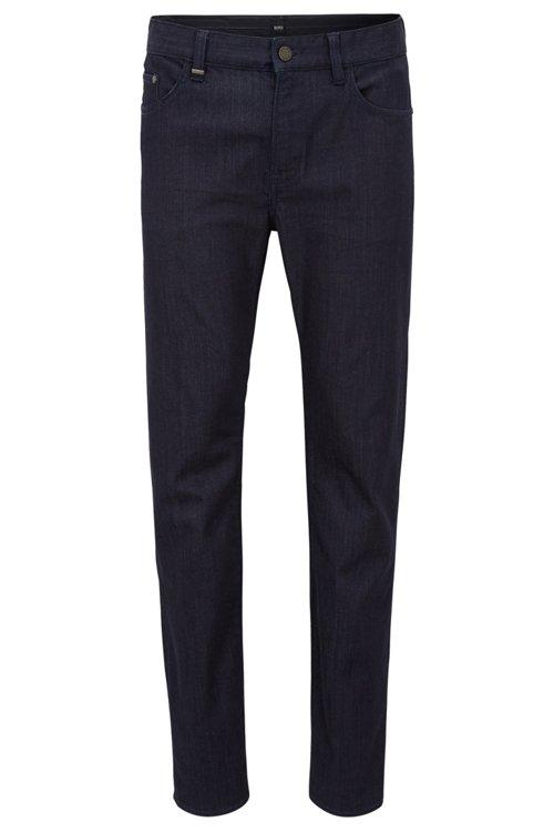 Hugo Boss - Slim-fit jeans in rinse-washed stretch denim - 1