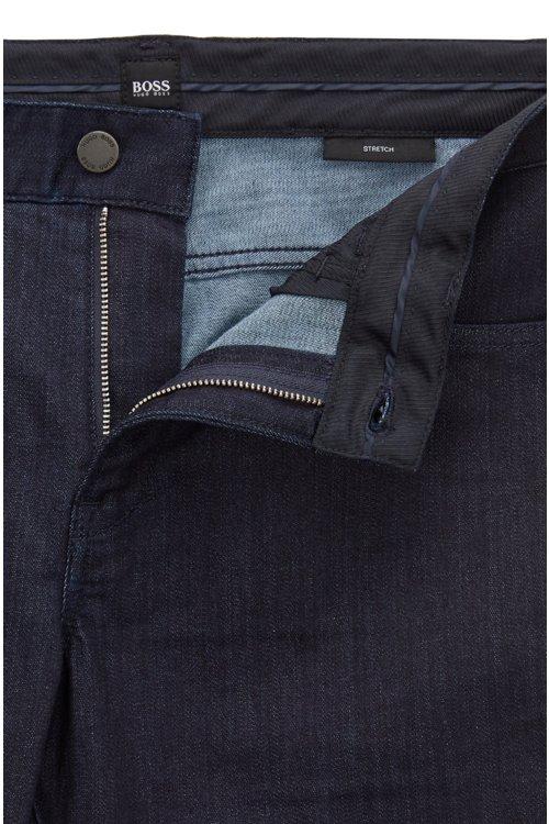 Hugo Boss - Slim-fit jeans in rinse-washed stretch denim - 4
