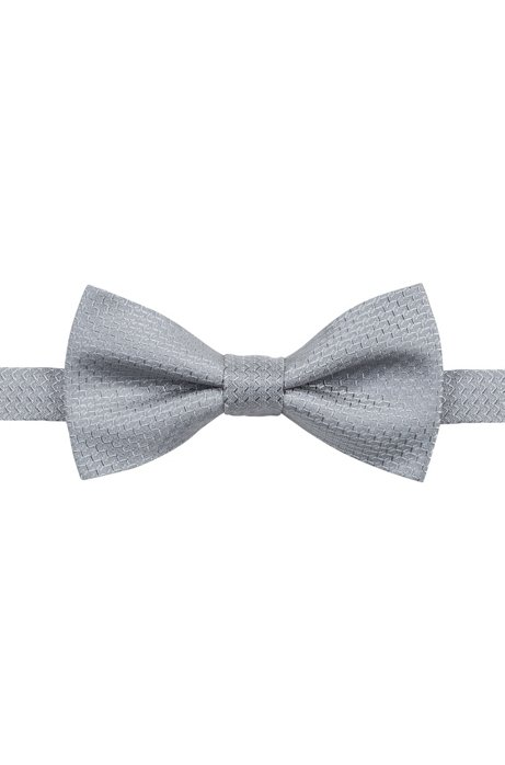 Buy Cheap Buy Micro-patterned bow tie in silk jacquard HUGO BOSS Great Deals Low Cost Discount 2018 Pick A Best DkhDGR