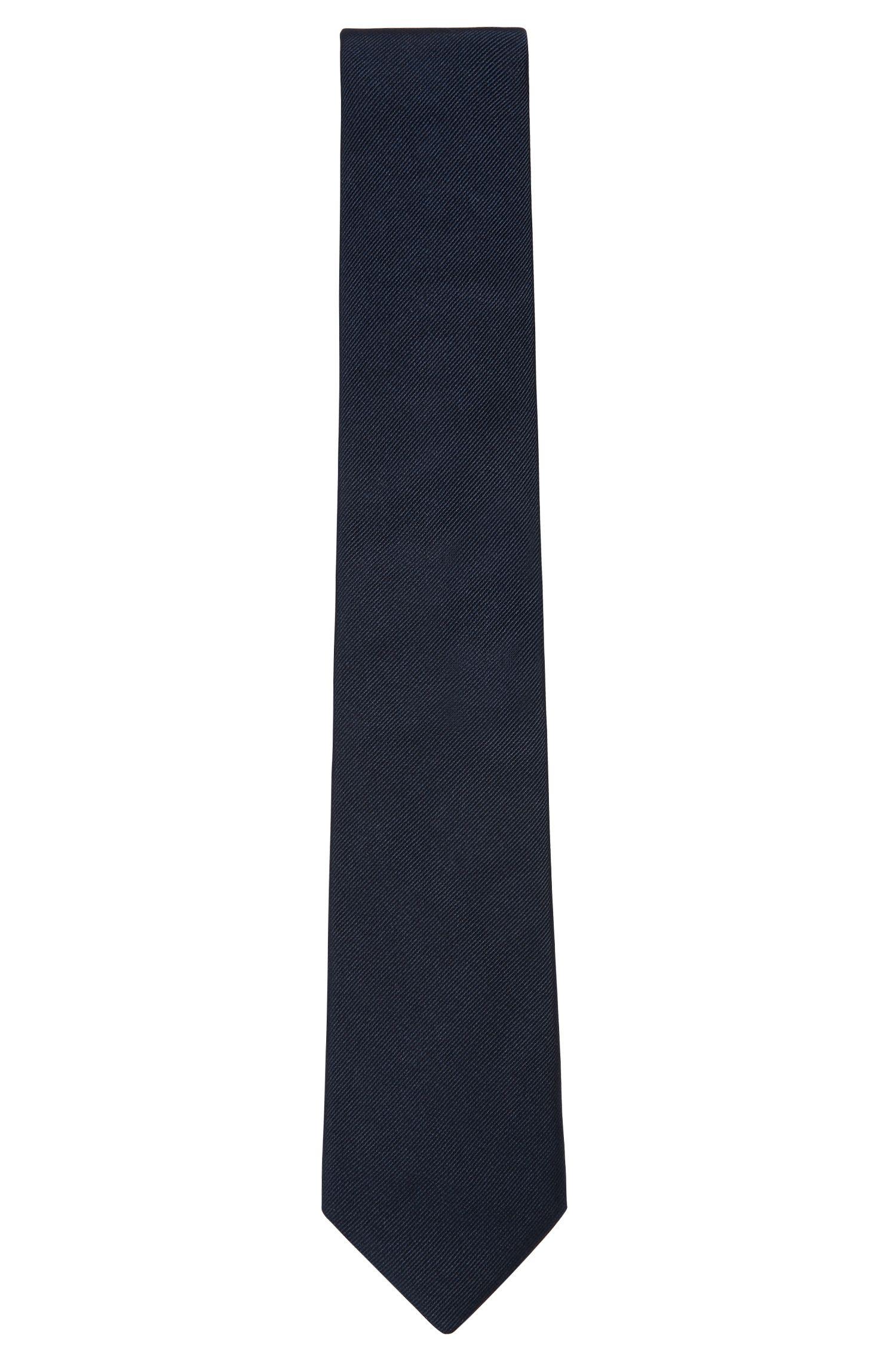 In Italien gefertigte Krawatte aus Seiden-Jacquard
