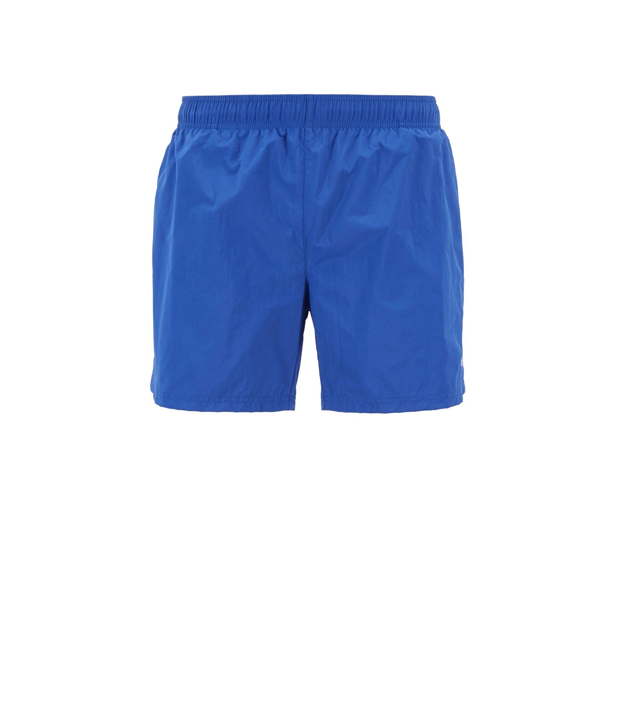 Zwemshort van sneldrogend, technisch materiaal, Blauw