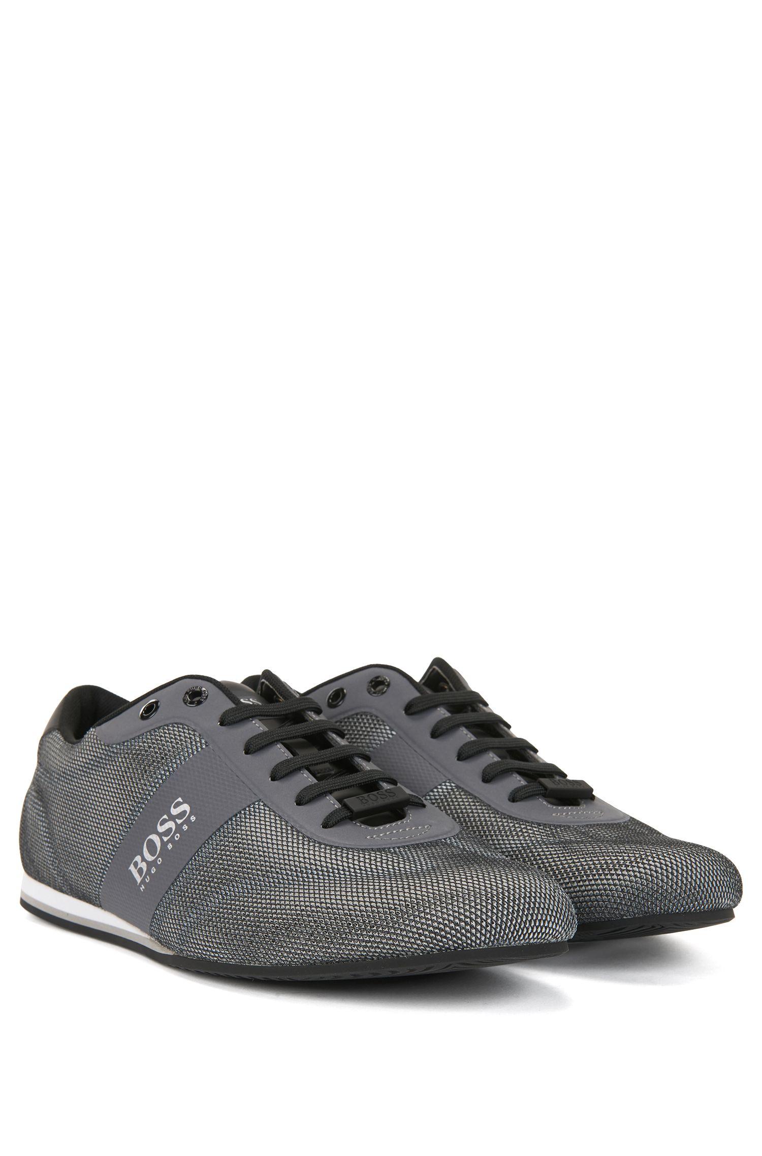 BOSS Hugo Boss Low-top sneakers one-piece mesh uppers 11 Grey