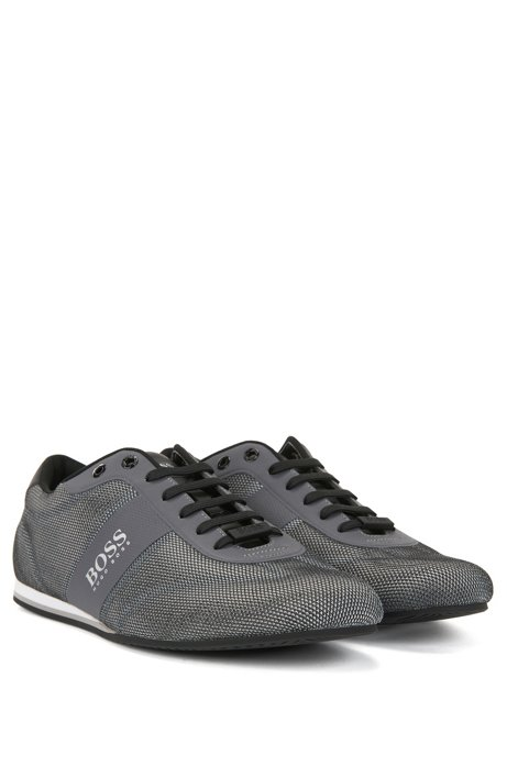 BOSS Hugo Boss Low-top sneakers one-piece mesh uppers 11 Grey Best Outlet Locations For Sale IWCtnpfbml