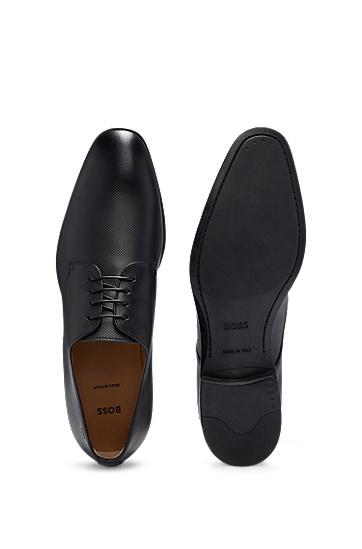 男士简约商务正装皮鞋,  001_黑色