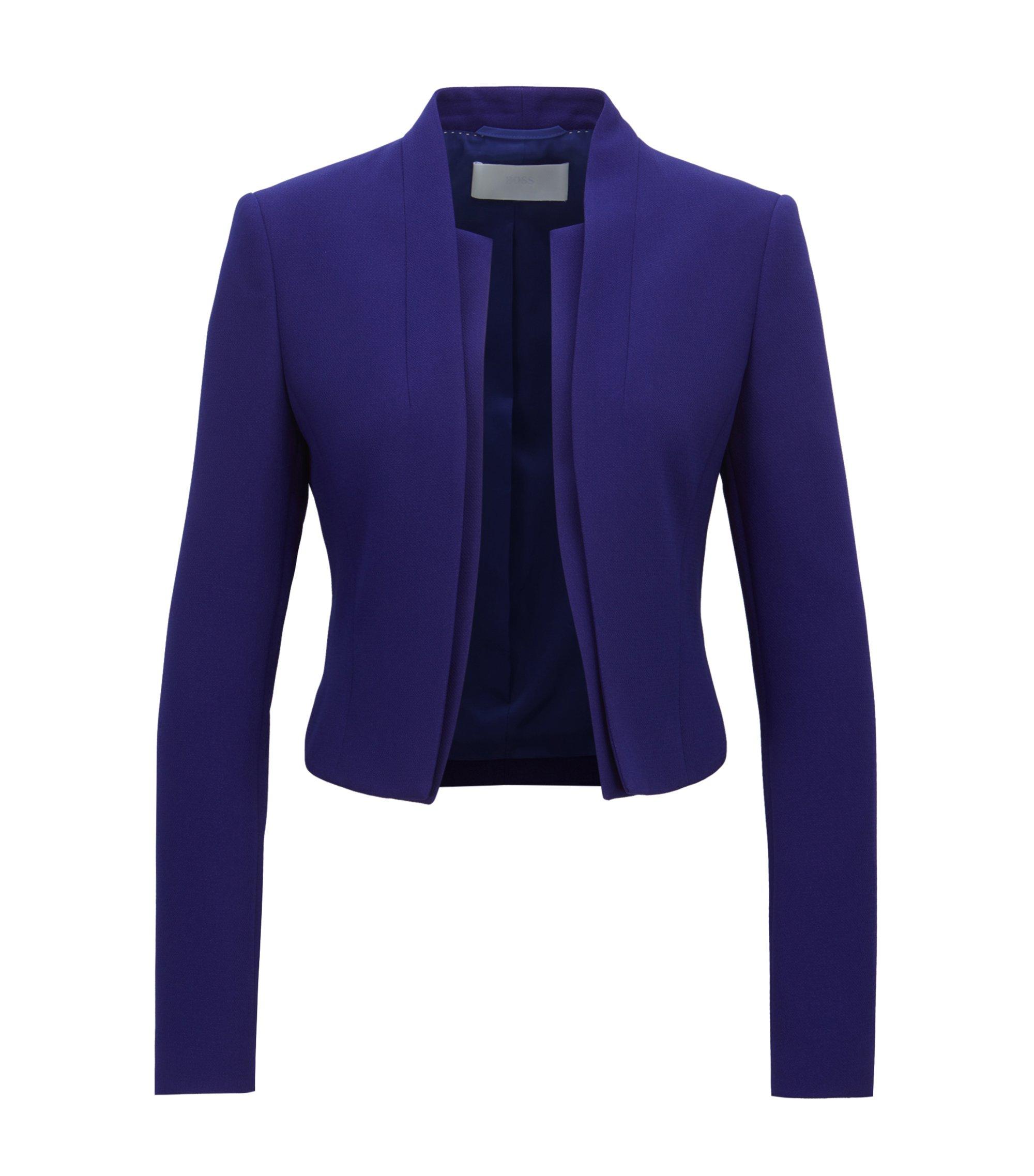 Regular-fit, korte blazer met laagjeseffect, Lila