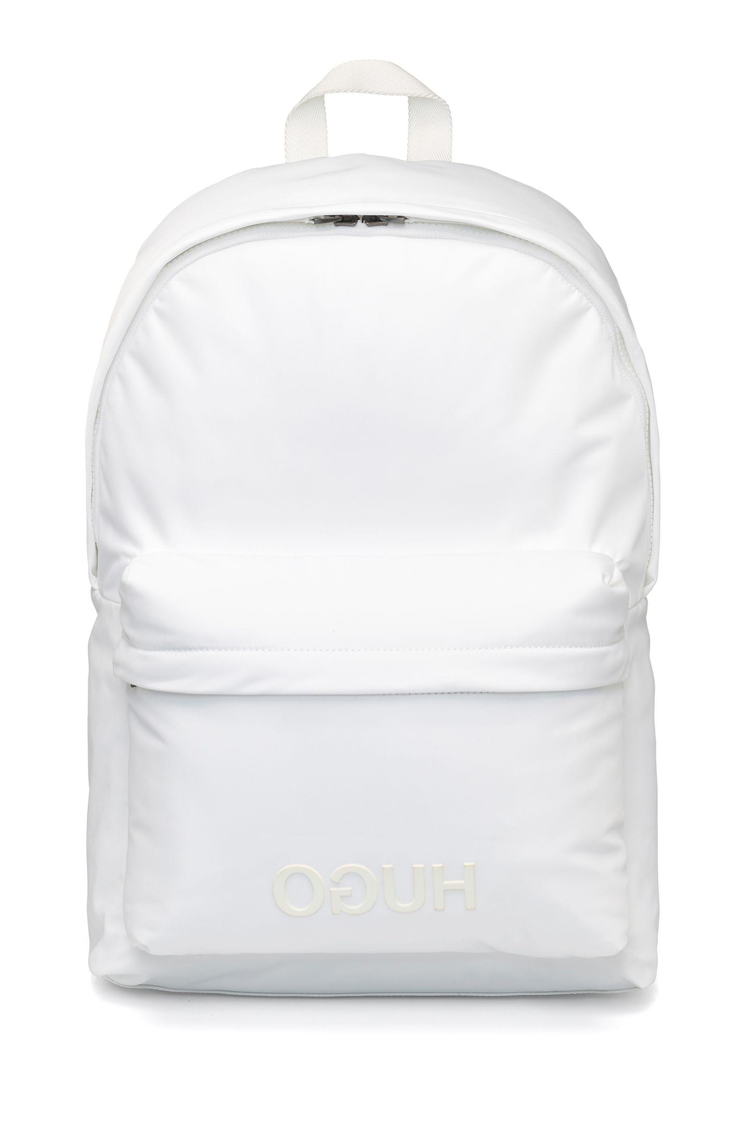 Rucksack aus Nylon-Gabardine mit Reversed-Logo