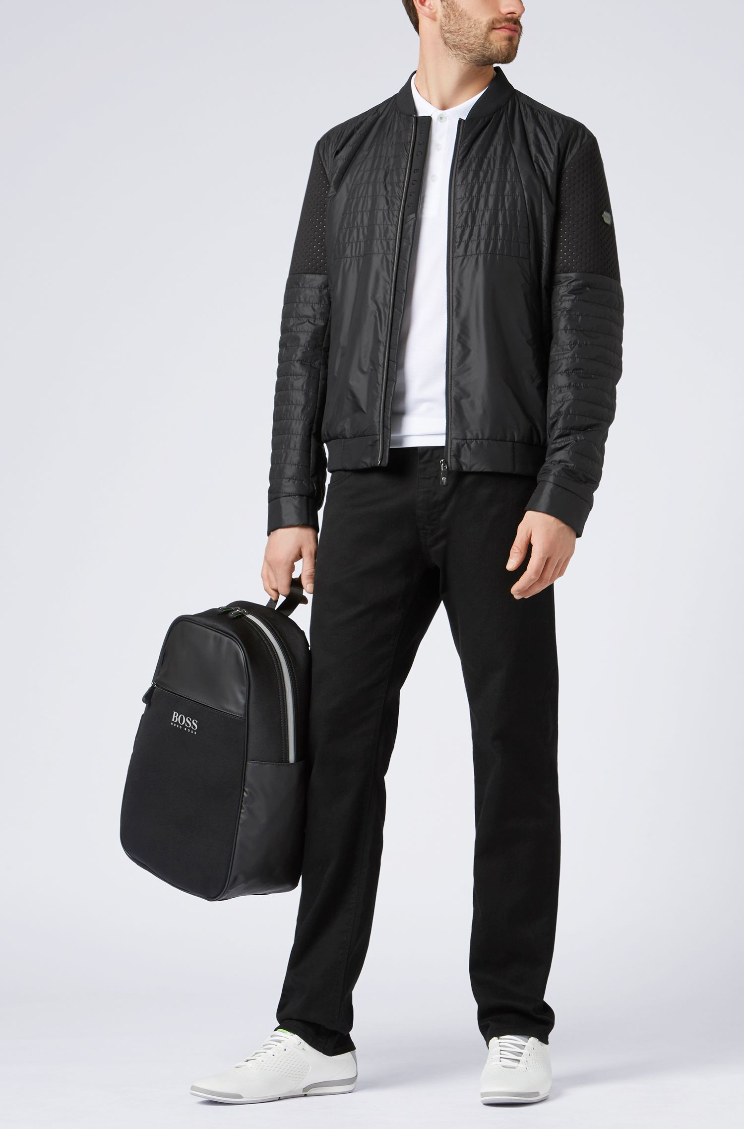 Hugo Boss - Water-repellent blouson jacket with electromagnetic-waves blocker - 2