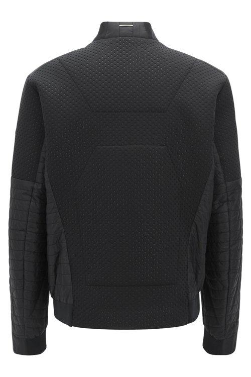 Hugo Boss - Water-repellent blouson jacket with electromagnetic-waves blocker - 3