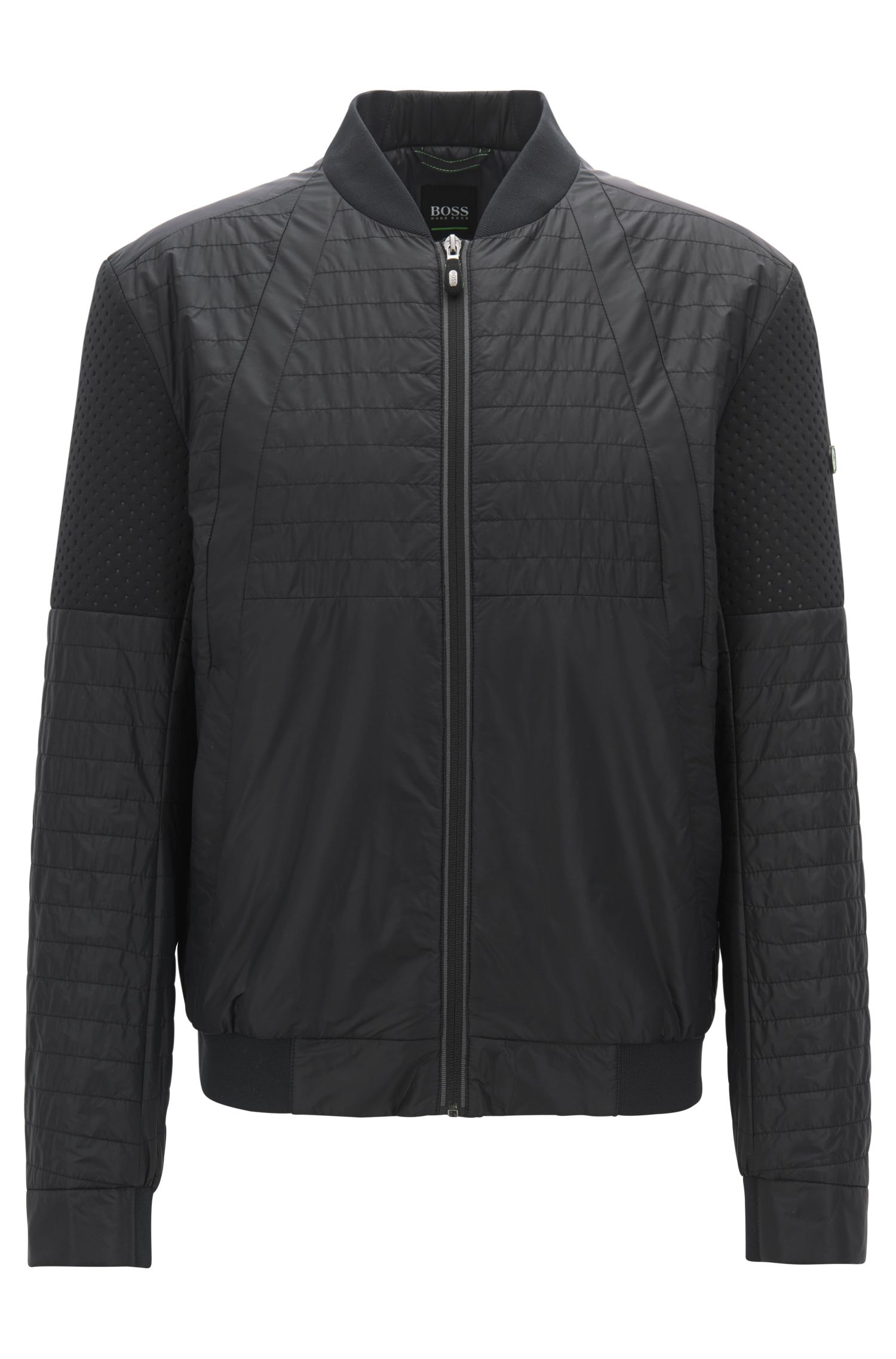Hugo Boss - Water-repellent blouson jacket with electromagnetic-waves blocker - 1