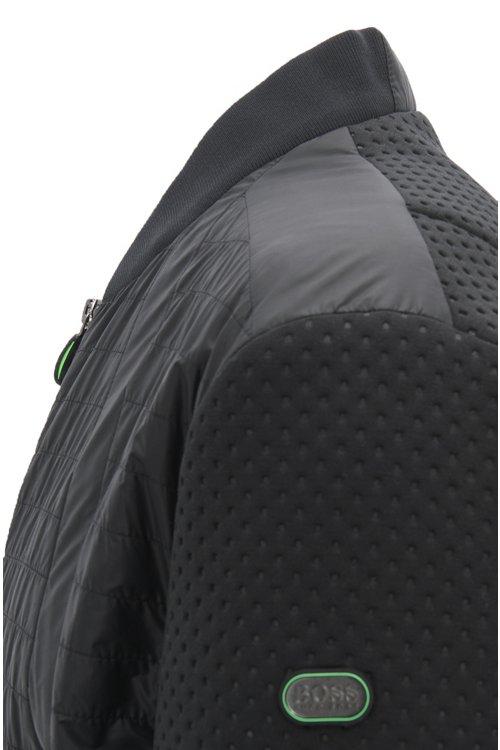 Hugo Boss - Water-repellent blouson jacket with electromagnetic-waves blocker - 4
