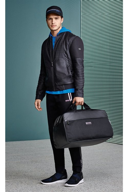 Hugo Boss - Water-repellent blouson jacket with electromagnetic-waves blocker - 7