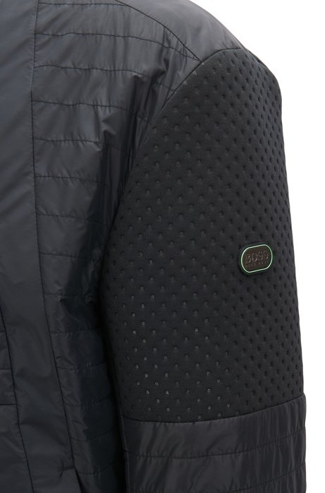 Water-repellent blouson jacket with electromagnetic-waves blocker BOSS Pick A Best Cheap Online Discount Official Site Shop Online Sast Cheap Price GG0sYI