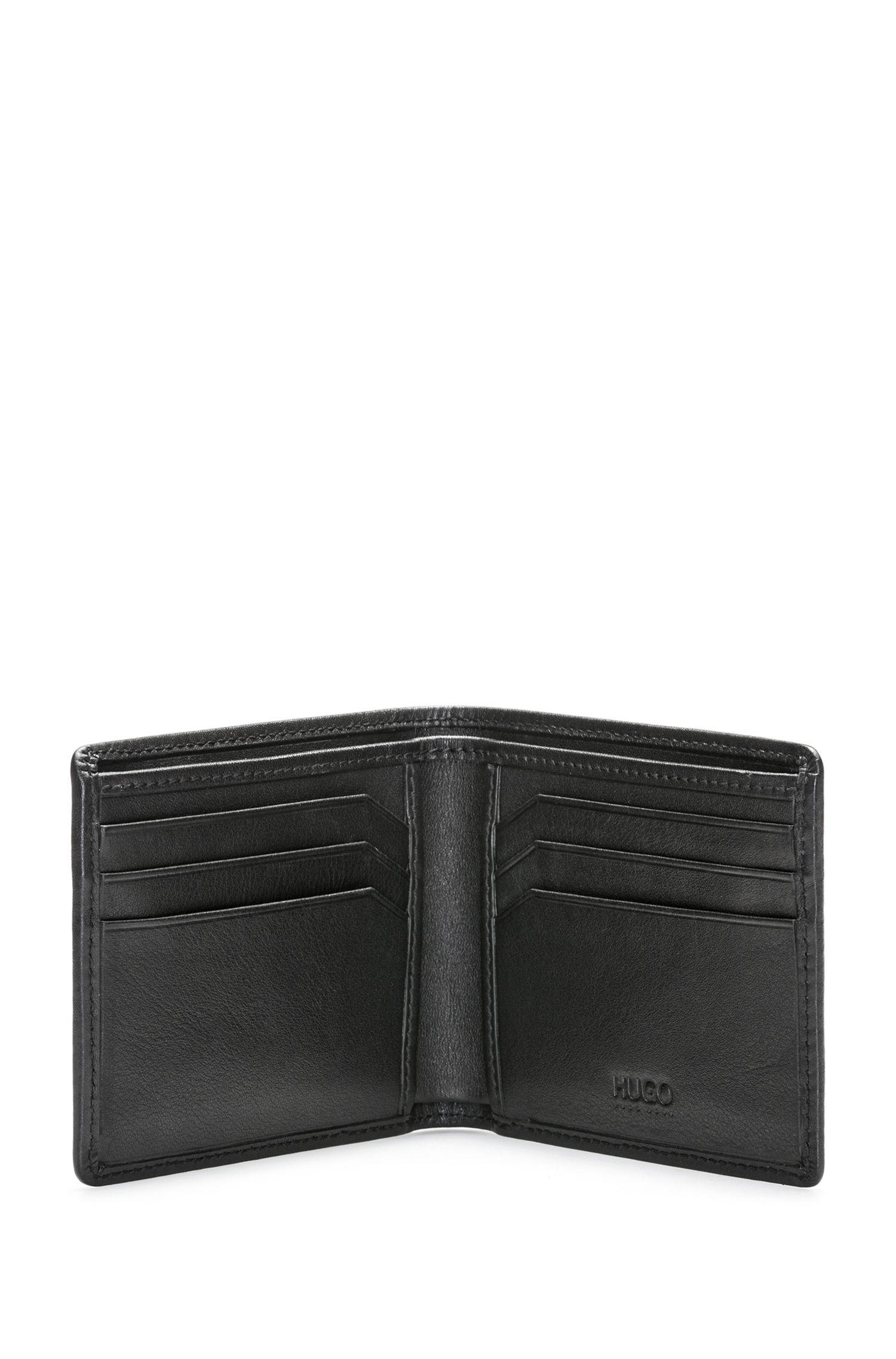 Portefeuille pliable avec logo inversé à l'imprimé soyeux 1XfraK
