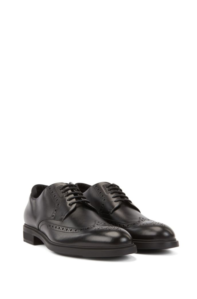 Italian-made Derby brogue shoes with Outlast® lining