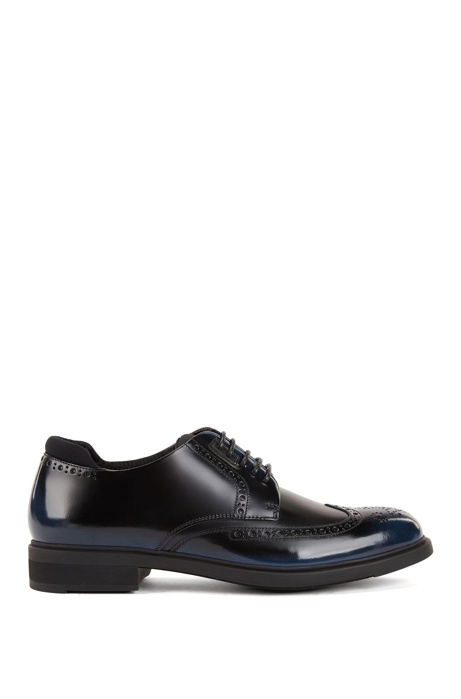 Chaussures derby en cuir à doublure Outlast®