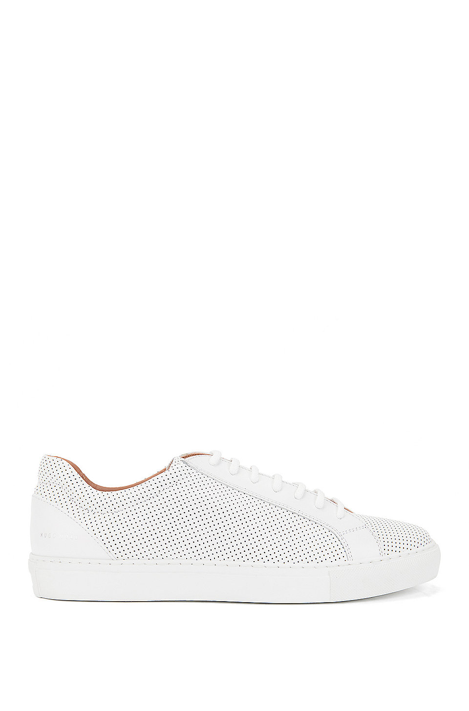 Sneakers aus italienischem Leder mit Perforationen YBSGqVfp0I