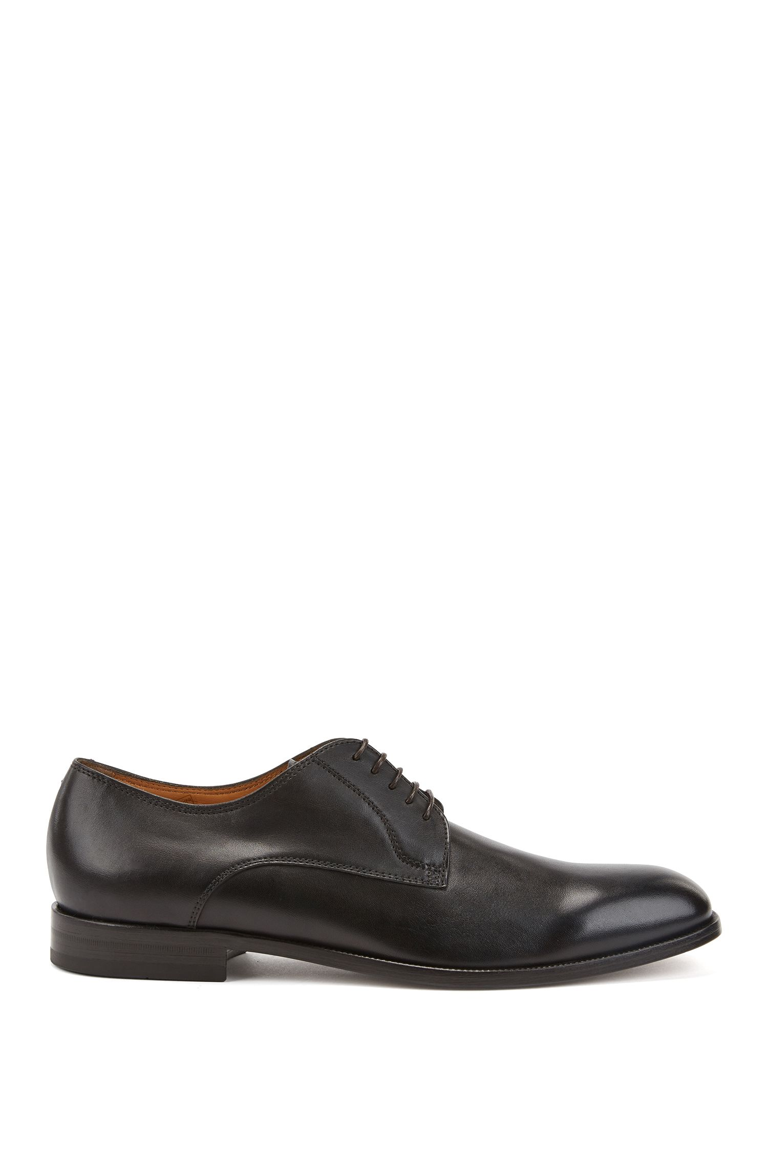 Italian-made Derby shoes in smooth calf leather