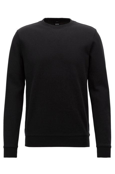 HUGO BOSS Sweat Slim Fit en coton mélangé double face gGu24