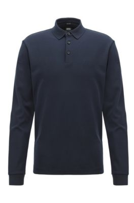 Long-sleeved Polo Shirts