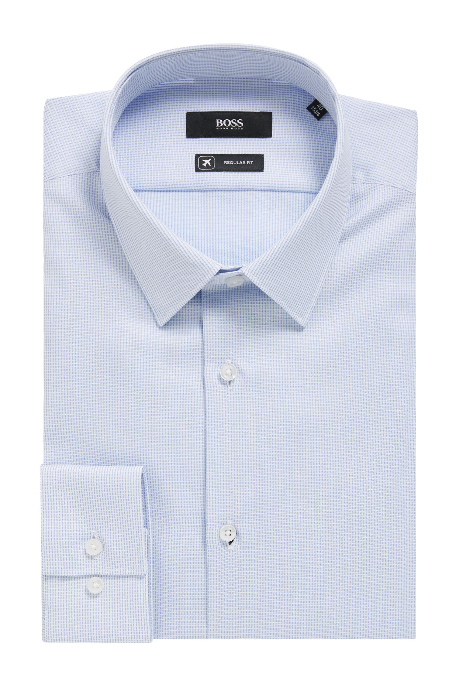 Swiss-cotton shirt with aloe vera treatment