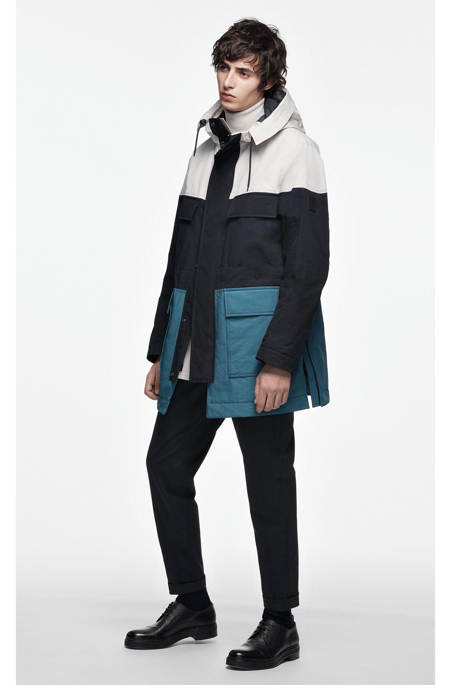 Maglione con colletto a tartaruga in pregiata lana merino realizzata in Italia, Beige chiaro