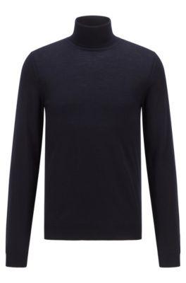 3bc9bc90b68 Turtleneck sweater in extra-fine Italian merino wool