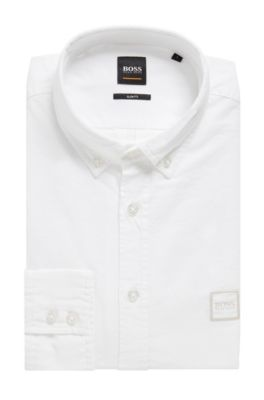 a833f779c HUGO BOSS | Shirts for Men | Fitted Shirts - Slim Fit Shirts