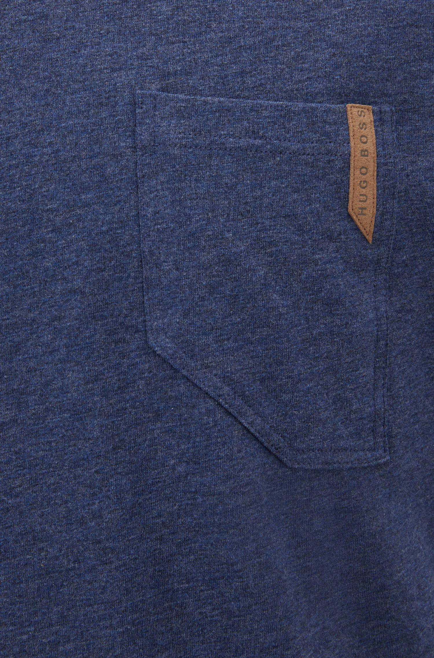 Conjunto de pijama en sarga de algodón con bolsillos estilo vaqueros