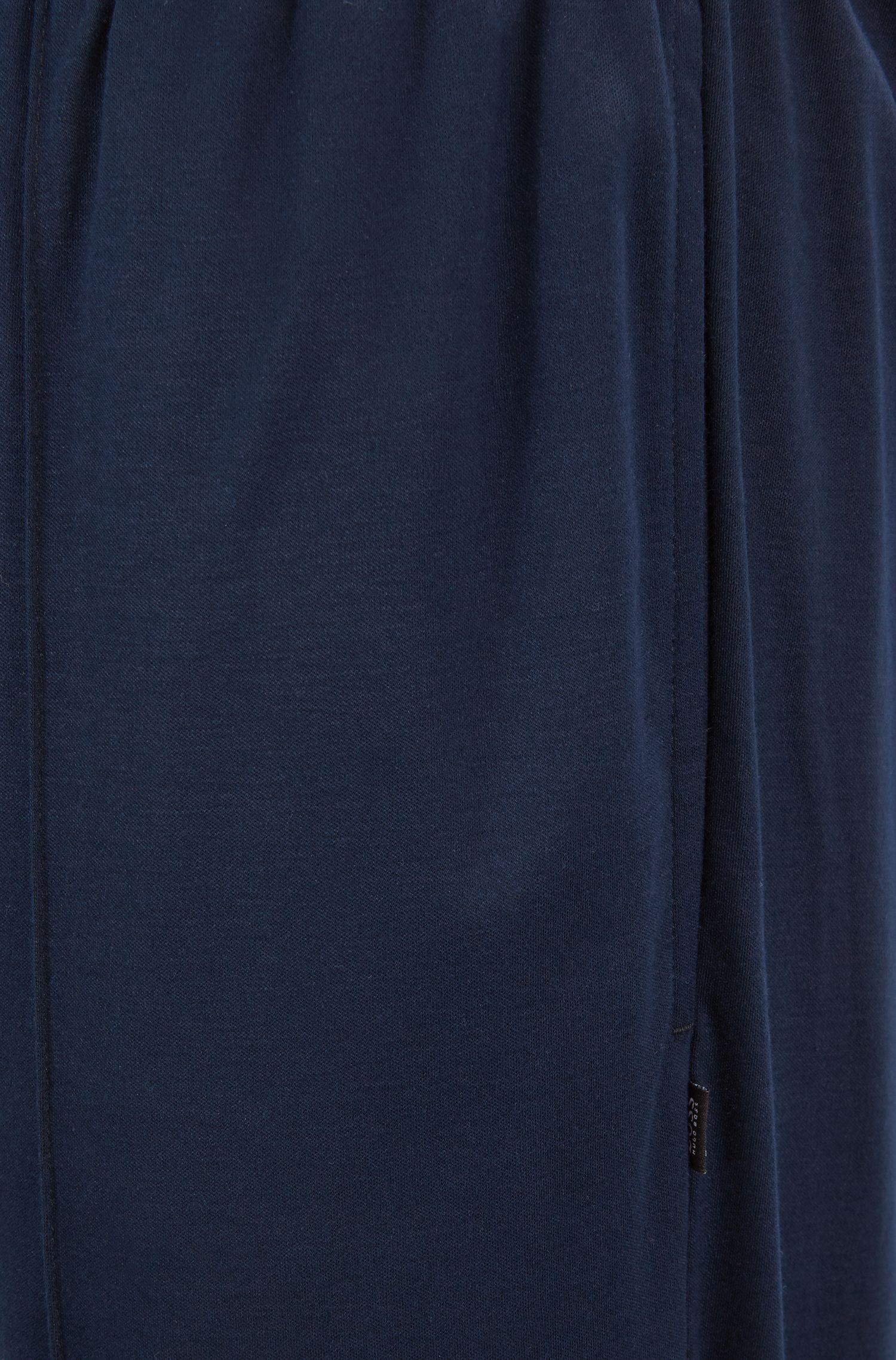 Pyjama trousers in an interlock cotton-modal blend