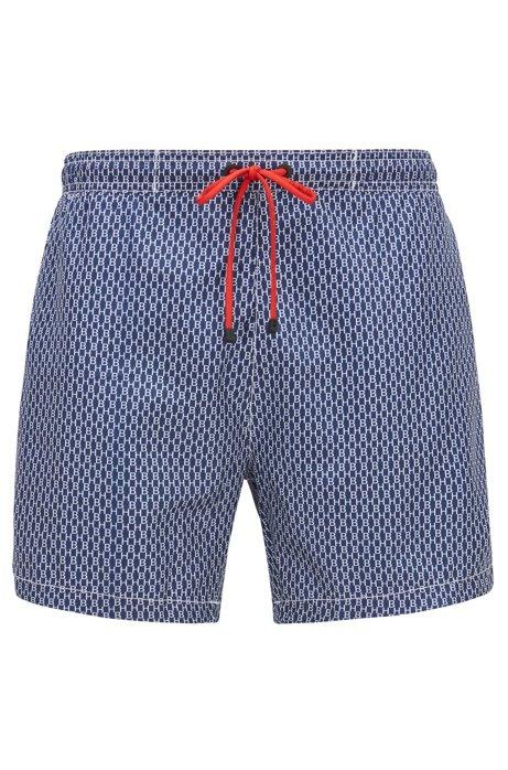 Bañador tipo shorts de secado rápido con estampado integral con monograma 00d16973369