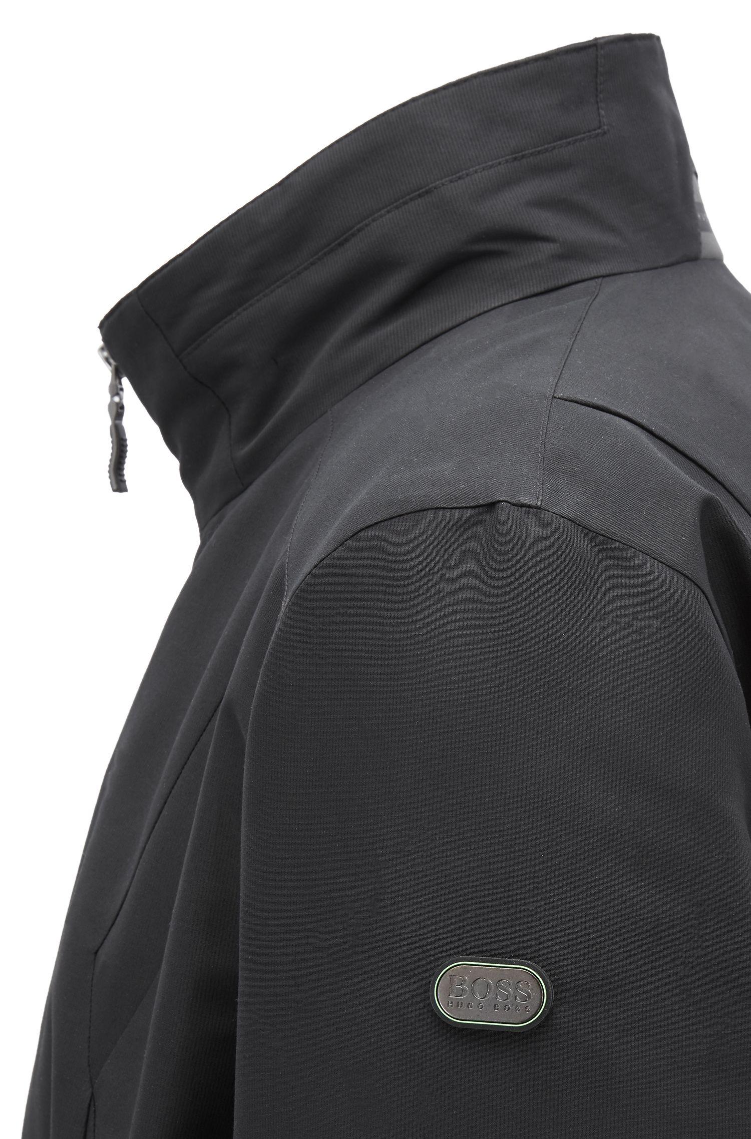 Veste zippée Link2, avec entredoublure anti-ondes électromagnétiques, Noir