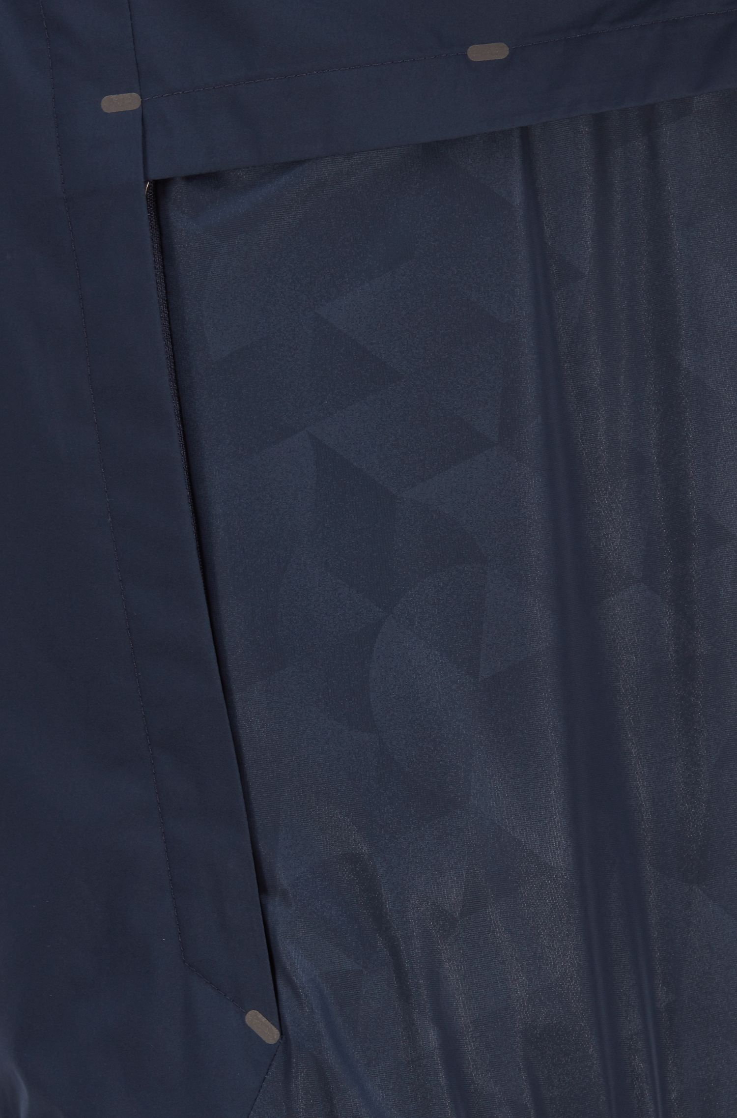Veste imperméable en tissu stratifié double couche, au toucher doux