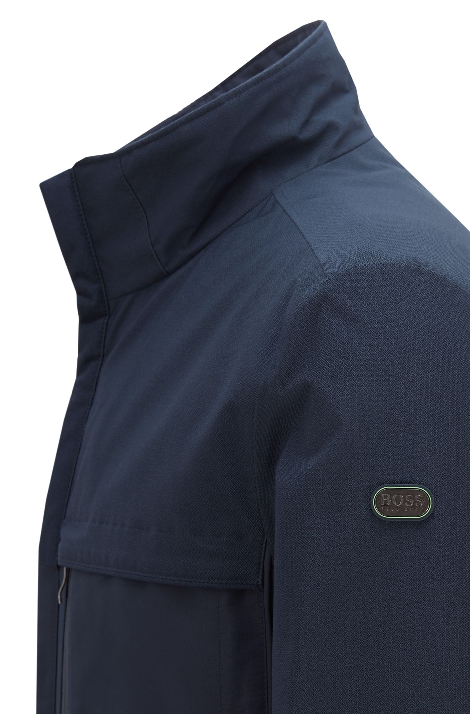 Link2 hooded jacket with electromagnetic-wave blocker