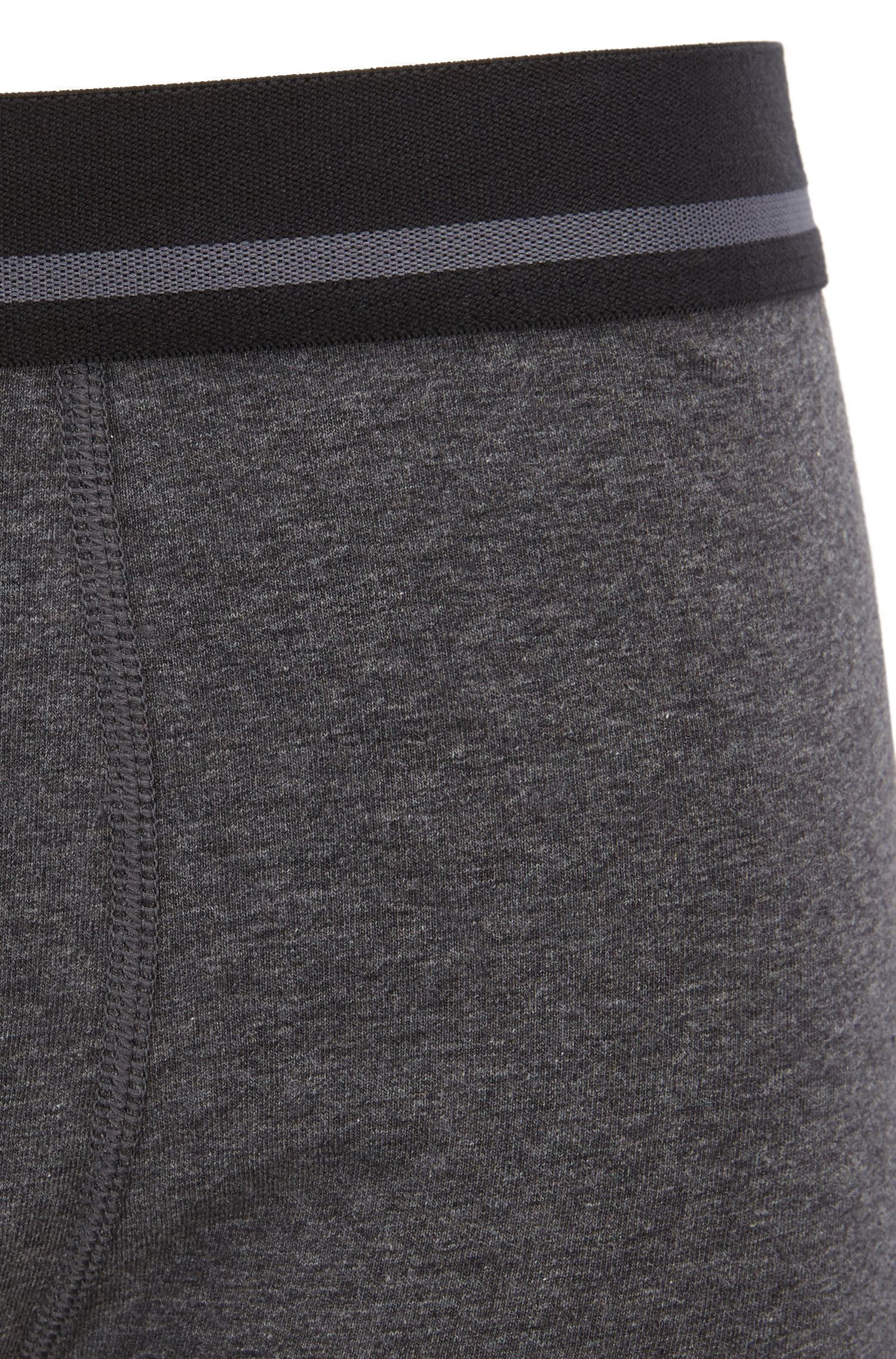 Boxershorts aus Single Jersey, Grau