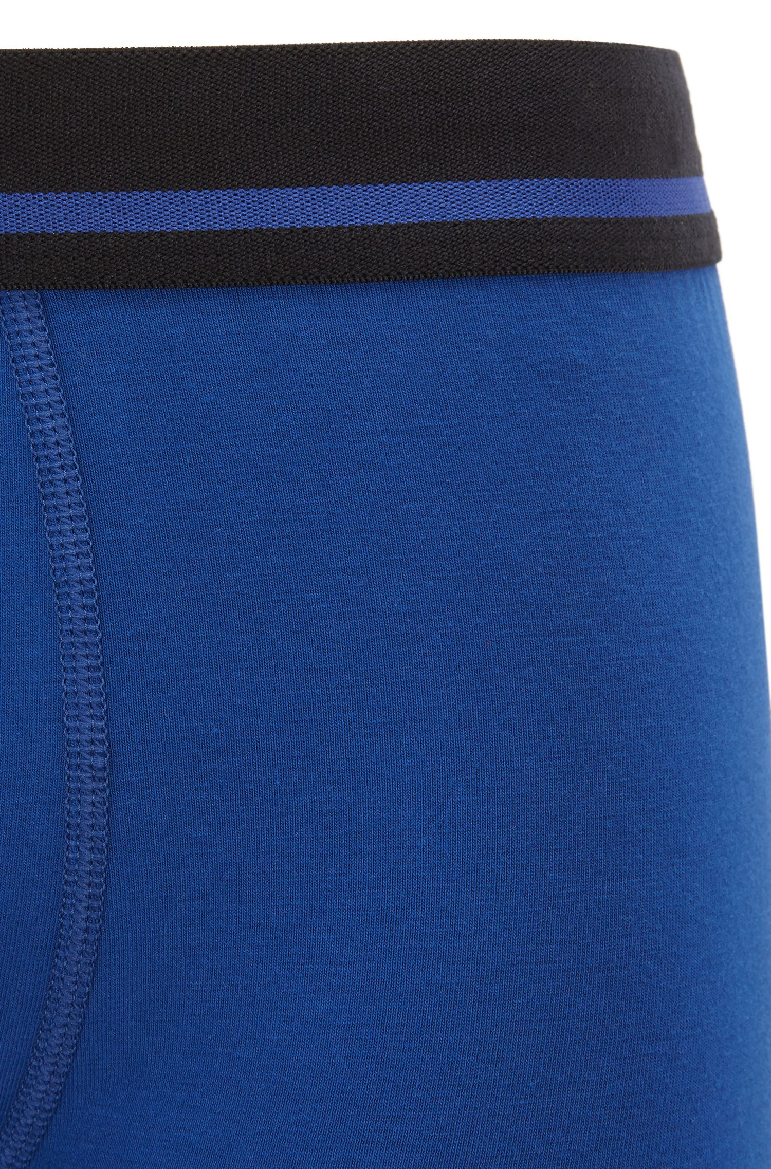 Boxershorts aus Single Jersey, Blau